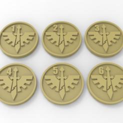 Descargar modelos 3D gratis Marcadores de Objetivo del Ala de la Muerte de los Ángeles Oscuros, Mazer
