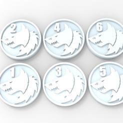 Descargar archivos 3D gratis Marcadores de objetivos de los Lobos Espaciales, Mazer
