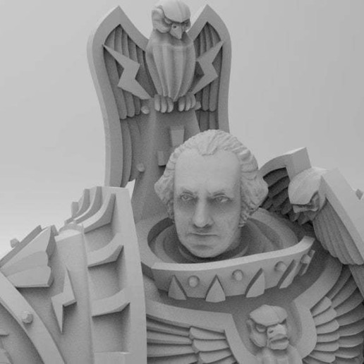 Download free 3D print files George Washington Emperor of Mankind, Mazer
