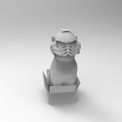 Download free 3D printing files Space Marine Cat, Mazer