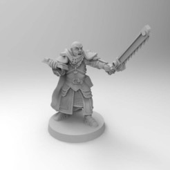 Descargar archivos 3D gratis Ministorum Priest Proxy Warrior Priest with Chainsword [Remasterizado], Mazer