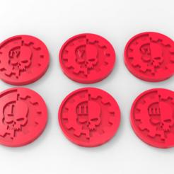 Descargar Modelos 3D para imprimir gratis Marcadores de objetivo Ad Mech, Mazer