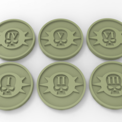 untitled.52.png Download free STL file Death Guard Objective Markers • Design to 3D print, Mazer