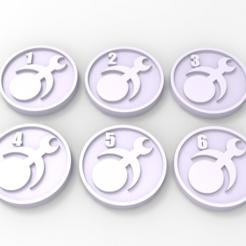 untitled.67.png Télécharger fichier STL gratuit Marqueurs d'objectifs de Slaanesh • Modèle pour imprimante 3D, Mazer