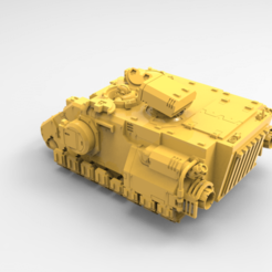 untitled.13.png Download free STL file Enclosed Armored Prime Jarhead Hover Transport (Resin Ready Remix) • 3D print model, Mazer