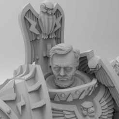 5cf4951952427e8d06e9387cd44950c9_display_large.jpg Download free STL file Abe Lincoln Emperor of Mankind • 3D print model, Mazer