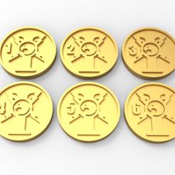 untitled.79.png Télécharger fichier STL gratuit Marqueurs d'objectifs des gardiens • Modèle imprimable en 3D, Mazer