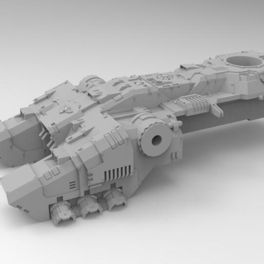untitled.380.jpg Download free STL file Starry Space hover AFV Optimized for Resin • 3D printing design, Mazer