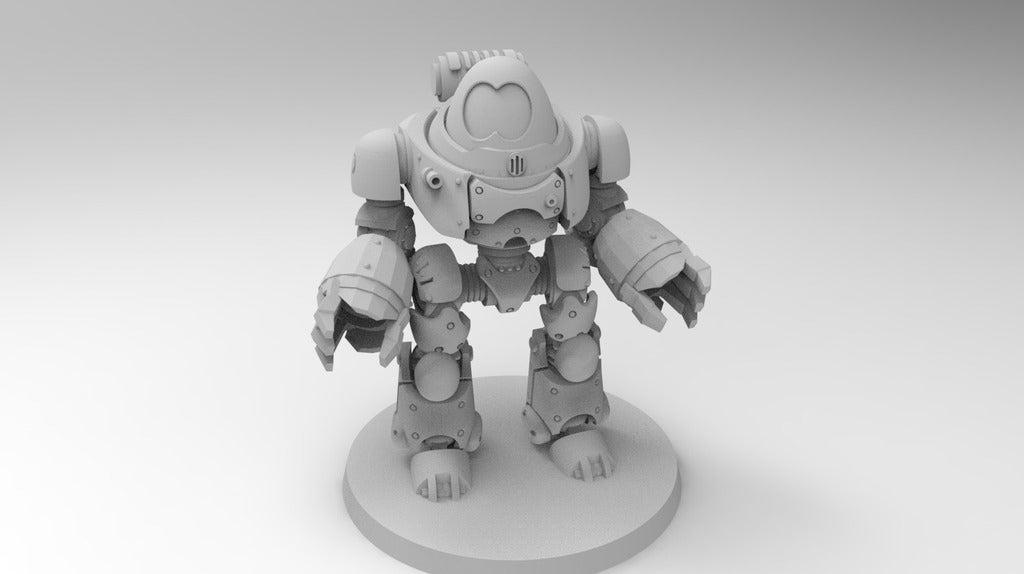 9577ca36388f17f0878dbf6bf8484e3c_display_large.jpg Download free STL file Robot Dread • 3D print template, Mazer