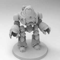 Download free STL file Robot Dread • 3D print template, Mazer