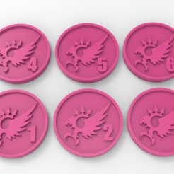 untitled.32.png Download free STL file Emperor's Children Objective Markers • 3D printing object, Mazer