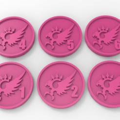 Descargar diseños 3D gratis Marcadores de objetivos de los Hijos del Emperador, Mazer