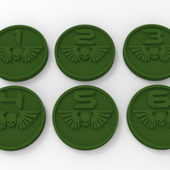 untitled.98.png Download free STL file Imperial Guard Objective Markers • 3D printing model, Mazer