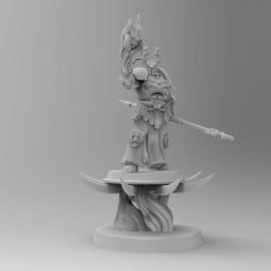 1d64ef3802cc54f478327f416596e13f_display_large.jpg Download free STL file Ahriman The 1000th Son on Disc • 3D printable object, Mazer