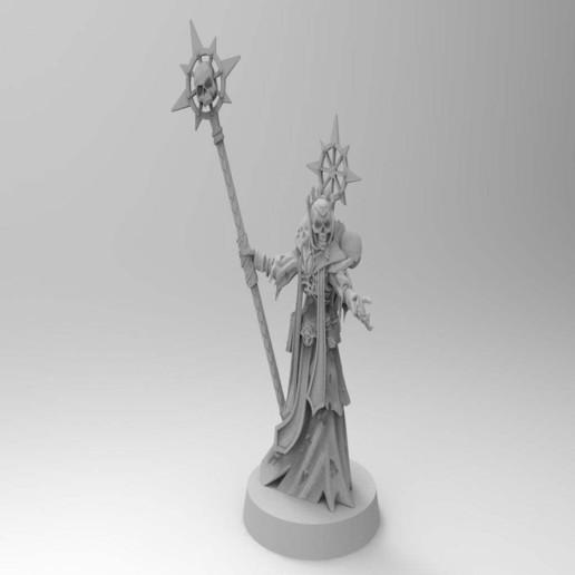 Télécharger objet 3D gratuit Dark Lich Apôtre REDUX, Mazer