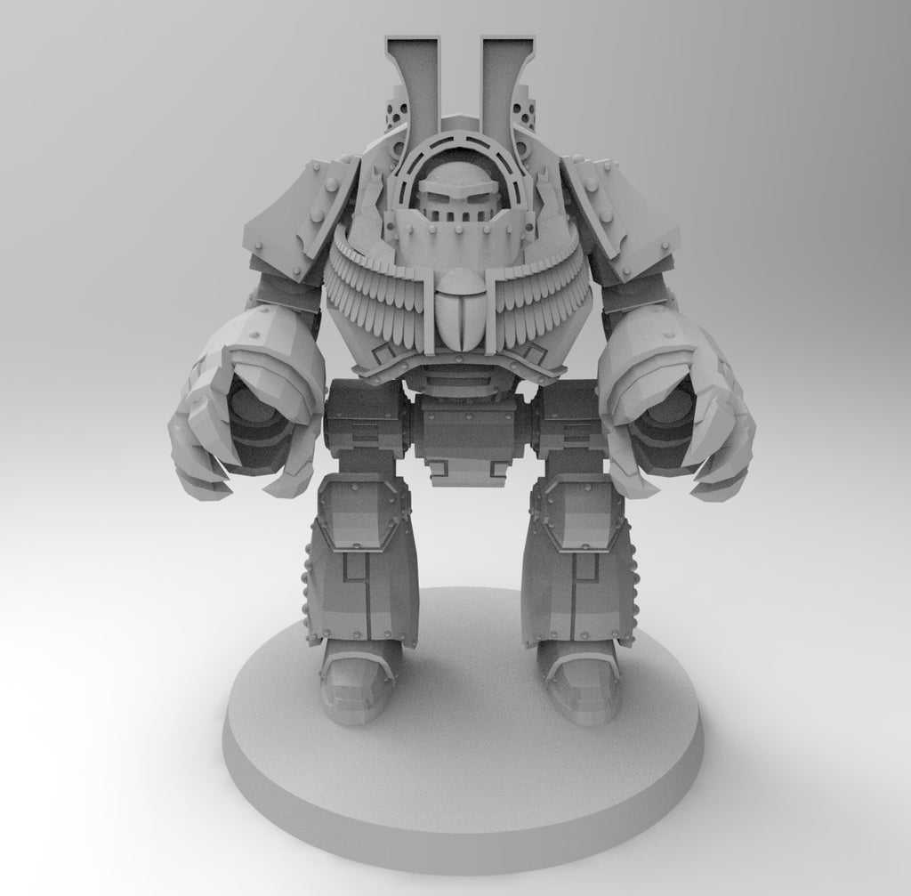 fc5afd905edd369cf133aef88e702399_display_large.jpg Download free STL file 1KSons Demon Prince Contemptor Dread with Wings/Jet Pack • 3D printing design, Mazer