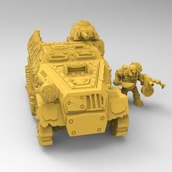untitled.92.jpg Download free STL file Orc HafftTrackk • 3D printer model, Mazer