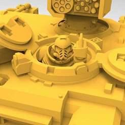 Imprimir en 3D gratis Conductor de tanque enojado, Mazer