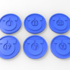 Download free STL Ultramarines Objective Markers, Mazer