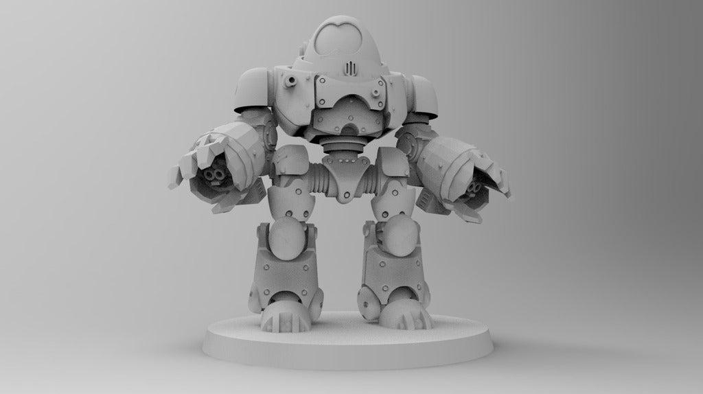 da679b71d9bd10845b7cd057e2eaf705_display_large.jpg Download free STL file Robot Dread • 3D print template, Mazer