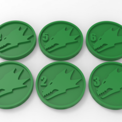 Download free 3D printer files Salamanders Objectives Markers, Mazer