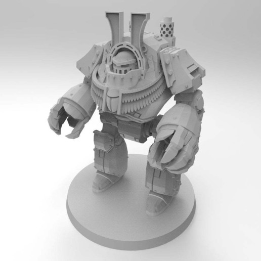 84854dbe5bd5a3cb7e6a393d942ef85c_display_large.jpg Download free STL file 1KSons Demon Prince Contemptor Dread with Wings/Jet Pack • 3D printing design, Mazer