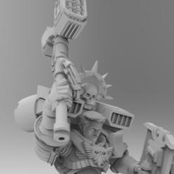 untitled.323.jpg Télécharger fichier STL gratuit Option Logan Head pour M. Smash • Plan pour imprimante 3D, Mazer