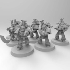 Download free 3D printing models Rubric Marines, Mazer