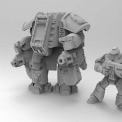 Download free 3D printer designs Centurion Dread, Mazer