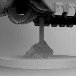 Descargar archivo 3D gratis Base voladora de barras de acrílico de roca, Mazer