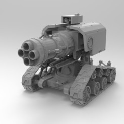 Download free STL file Jarhead Artillery Piece • Design to 3D print, Mazer