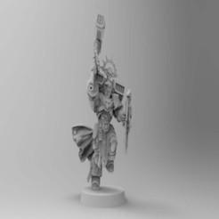 Descargar modelos 3D gratis Logan se dirige a Smash Captain, Mazer