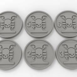 Descargar modelos 3D gratis Marcadores de Objetivo de Death Watch, Mazer