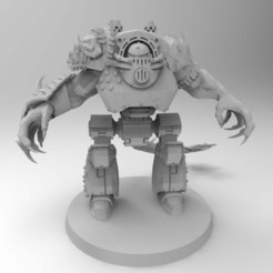 Download free STL file Demon Prince Dreadnought REDUX • 3D printing object, Mazer