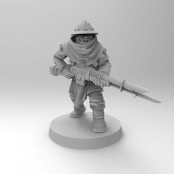 Impresiones 3D gratis Guardia de reclutamiento feudal, Mazer
