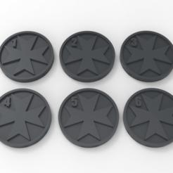 Descargar Modelos 3D para imprimir gratis Marcadores de objetivos de los templarios negros, Mazer