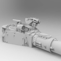 Download free 3D model 40k Pintle Storm Bolter, Mazer