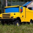 IMG_4540.jpg Download STL file RC Truck  Scania 4x4 Dakar Special - Fully printable • 3D printer template, Lukas-PIU