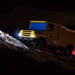 Télécharger STL RC Truck Scania 4x4 Dakar Special - Entièrement imprimable, Lukas-PIU