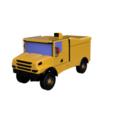 Scania 1.png Download STL file RC Truck  Scania 4x4 Dakar Special - Fully printable • 3D printer template, Lukas-PIU