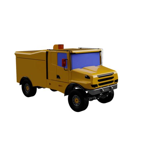 Scania 2.png Download STL file RC Truck  Scania 4x4 Dakar Special - Fully printable • 3D printer template, Lukas-PIU