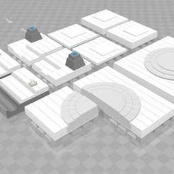 Download free 3D printing templates Easy Streets : All Is Dust [Deco Tile Set], Karkinos