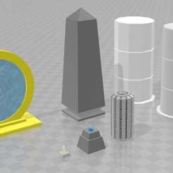 Download free 3D printing templates Easy Streets : All Is Dust [Scatter Pack], Karkinos