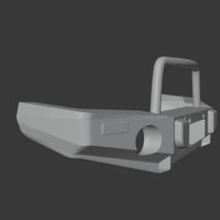 Captura de Pantalla 2020-12-04 a la(s) 5.57.46.png Download STL file Front Bumper Jeep Wrangler ARB • 3D printable model, mariobrother71