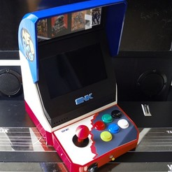 Download 3D printer model SNK NeoGeo MINI Bartop, phoenixFPV