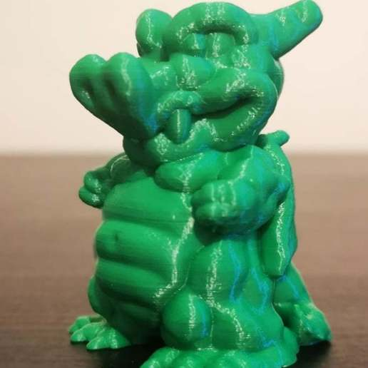 Download free 3D printing models Chubby Dragon, Fanboydungeon3D