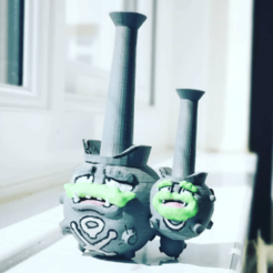 Download free STL file Galarian Weezing • 3D print model, Fanboydungeon3D