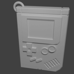 2.png Download free OBJ file Gameboy key chain • 3D printer object, polygoneyes