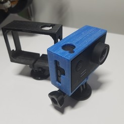 Download free 3D printer templates SJCAM frame, Lumaker