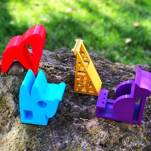 2_all_animals.jpg Télécharger fichier STL gratuit GORILLE • Objet imprimable en 3D, NIZU